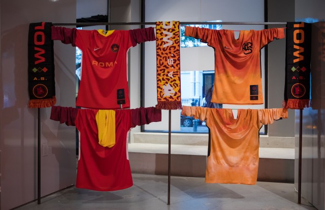 Items from the AS Roma exclusive collection at Fancy.