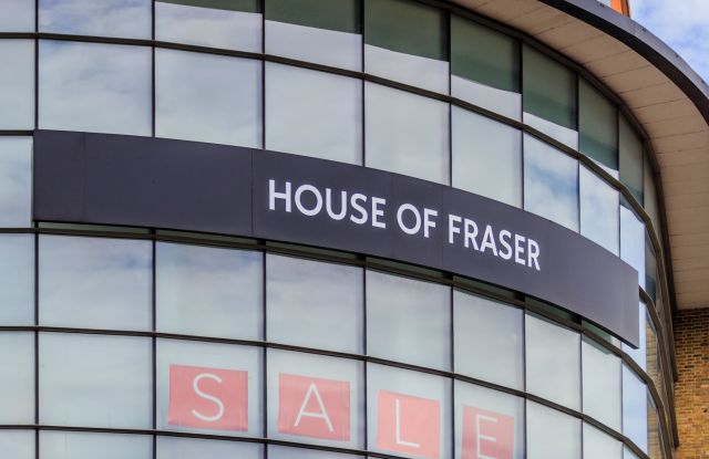 House of Fraser outlet at Fremlin Walk