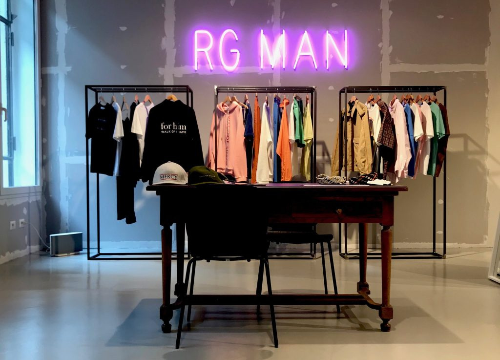 The new RG Man space at Riccardo Grassi showroom.