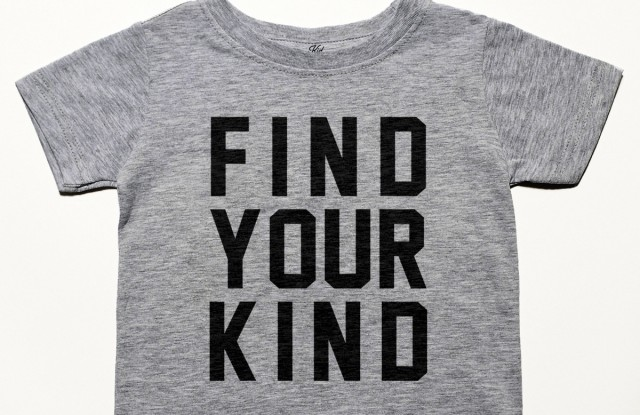A T-shirt from Bloomingdale's partnership with Kind Campaign.