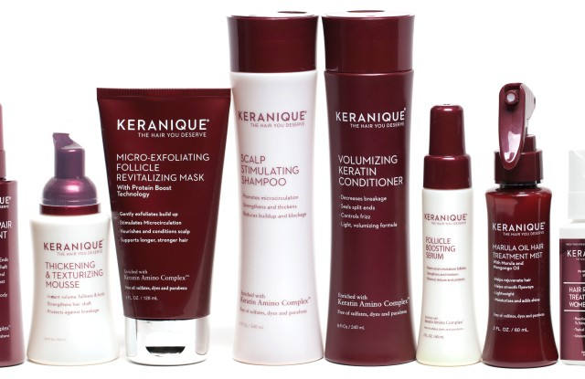 Keranique is formulated for women.