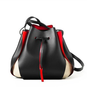 Linjer's wait-listed Tulip Bag, which comes in three colorways.