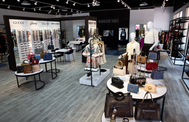 The new MadaLuxe Vault store in San Clemente, Calif.