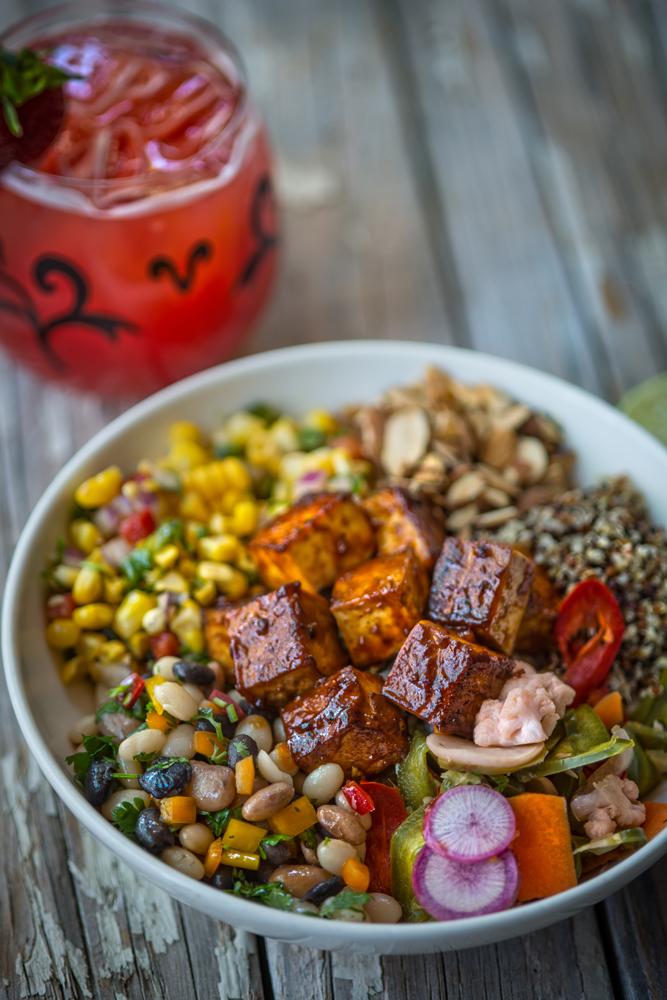BBQ Mexicana at Mandalay Bay Smoked Tofu Bowl