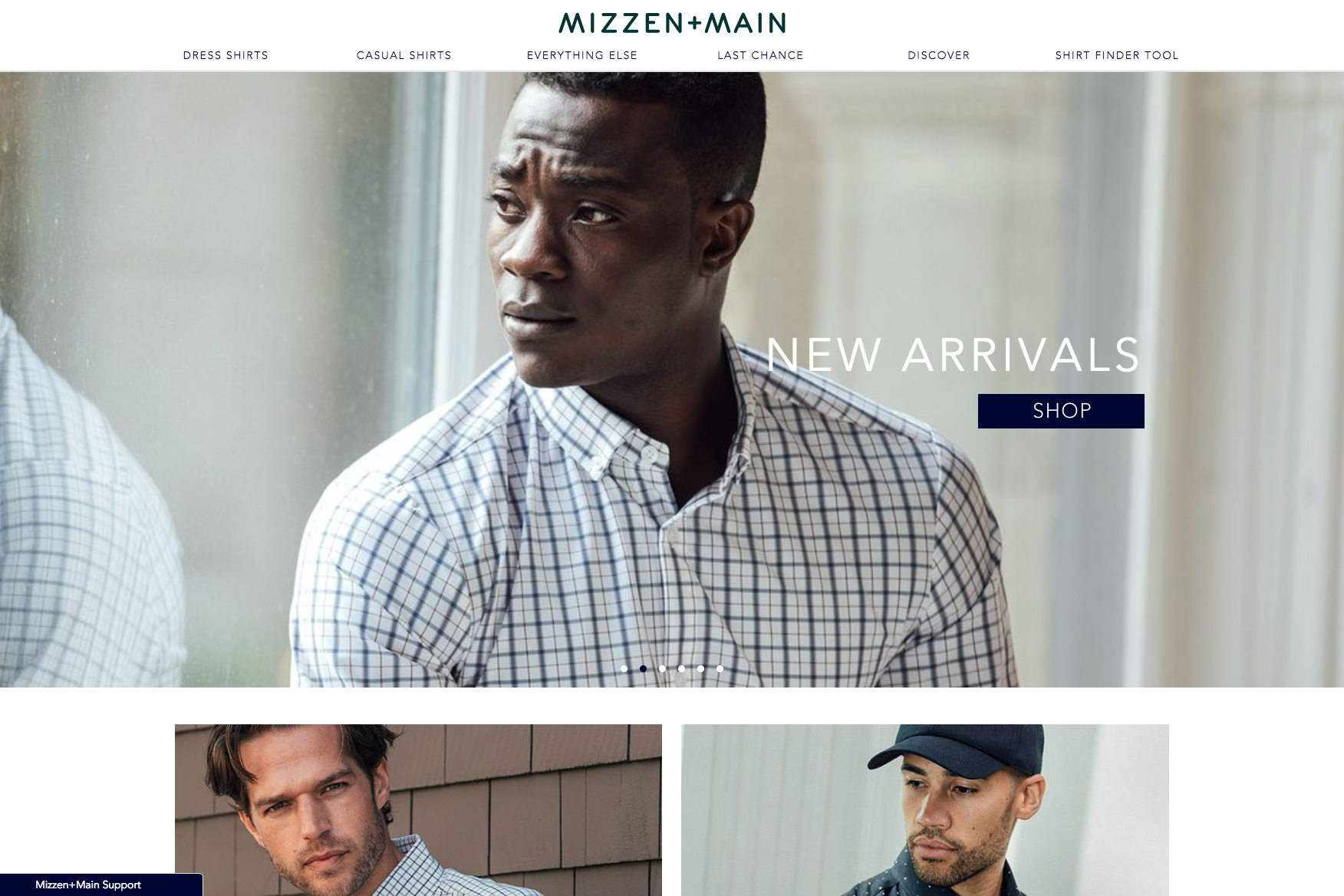 The Mizzen + Main website.