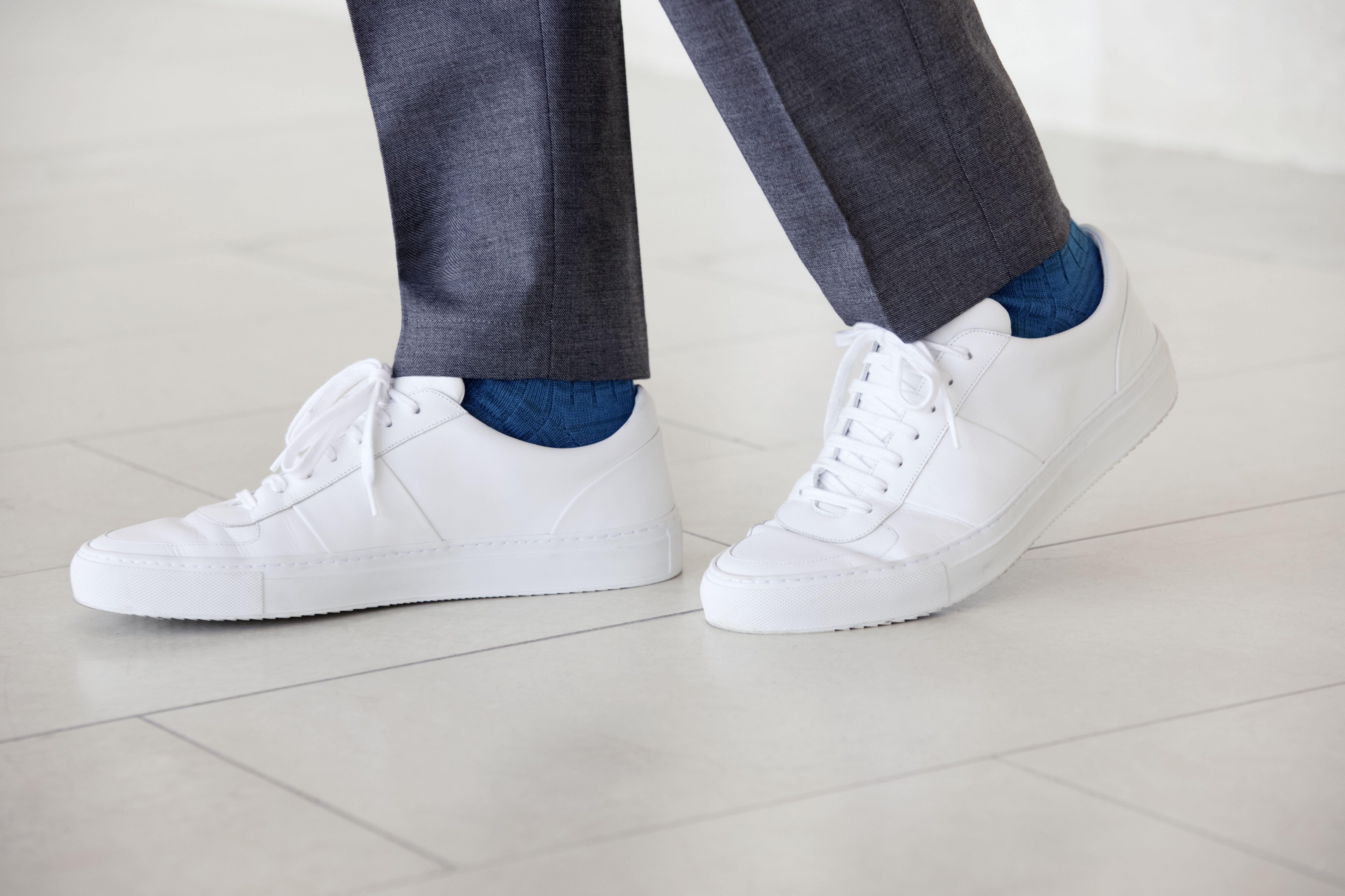 A style from Mr P's new footwear range