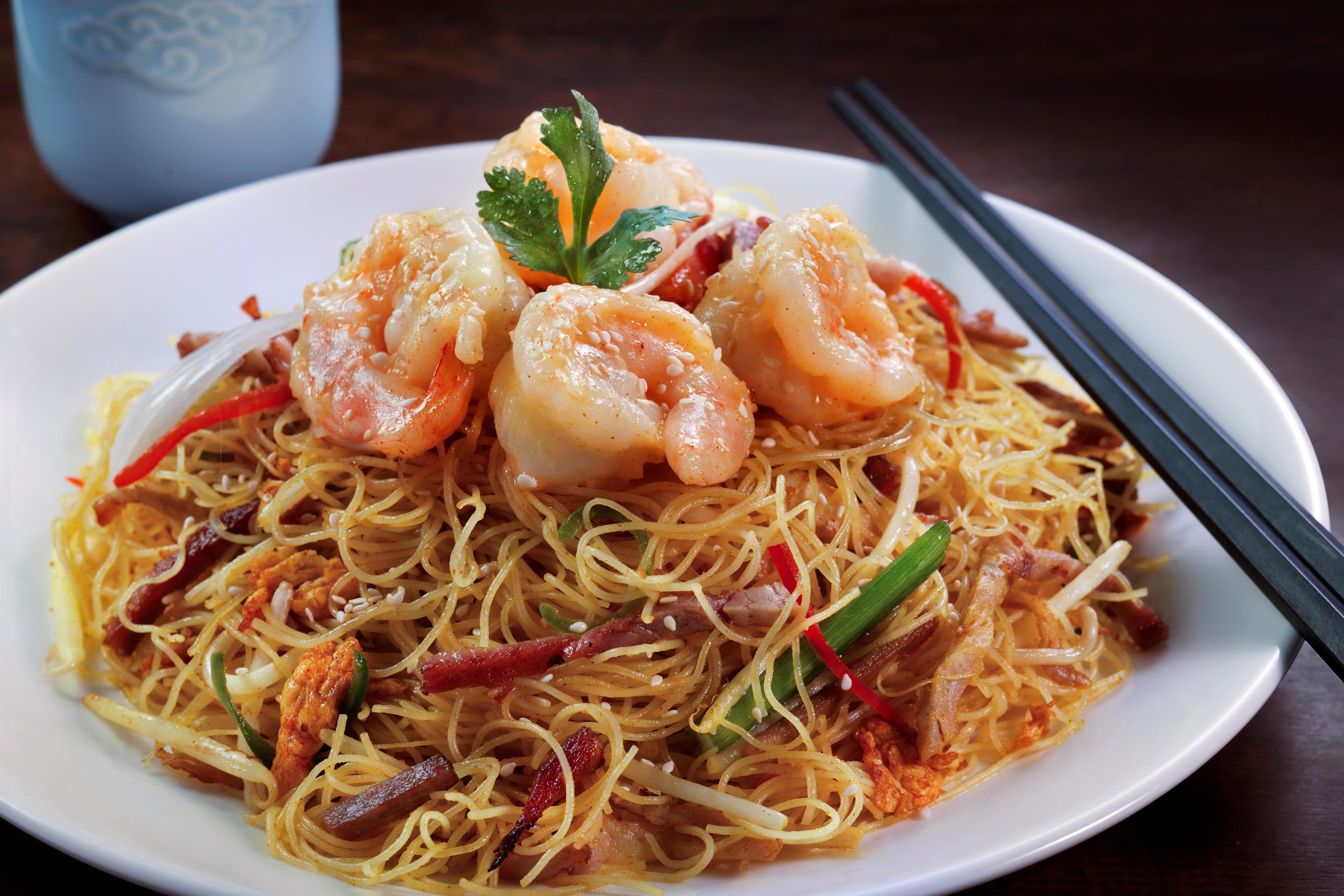 Shrimp Noodles at China Tang