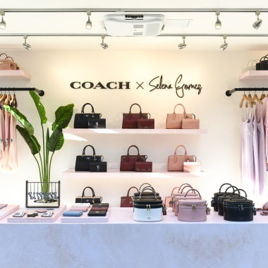 The Coach x Selena Gomez Pop-Up at The Grove