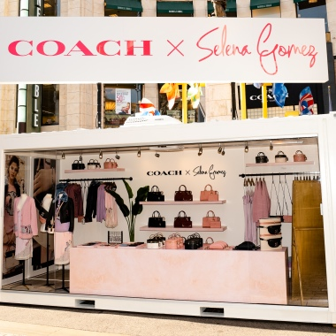 Coach x Selena Gomez Pop-Up at The Grove