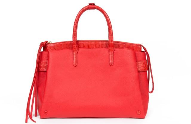 A new leather design by Nancy Gonzalez.