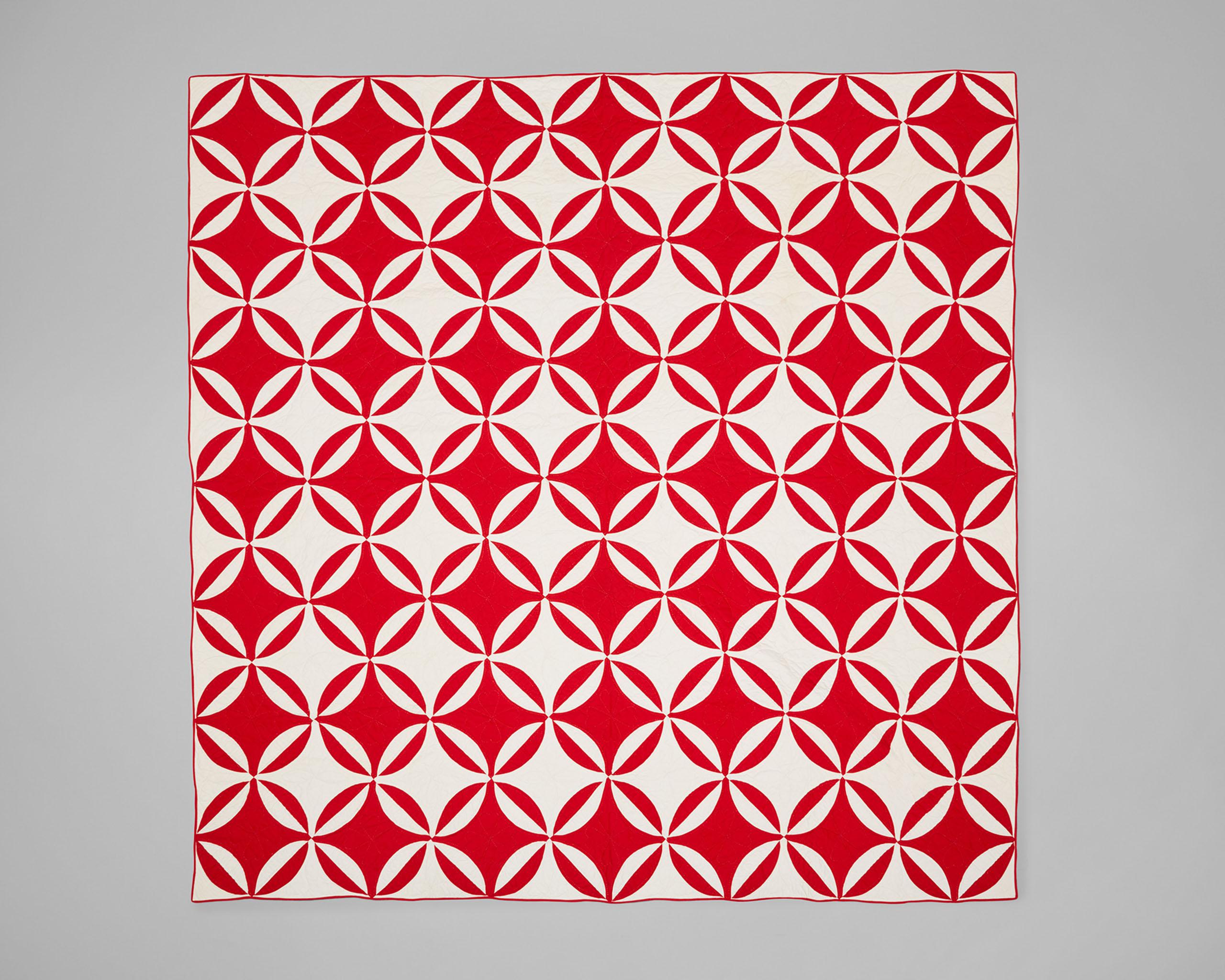 A Calvin Klein vintage quilt.