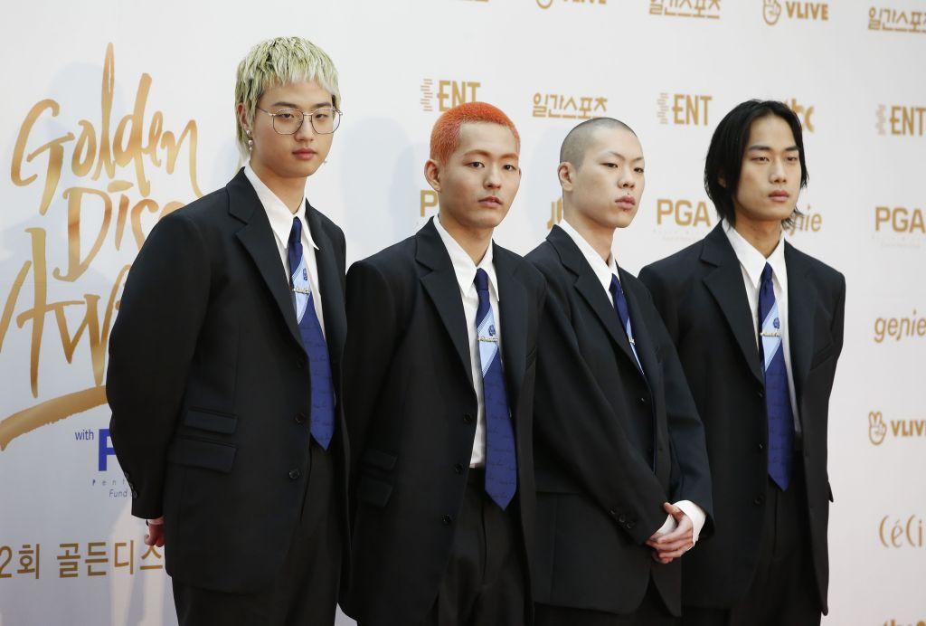 South Korean indie rock band Hyukoh