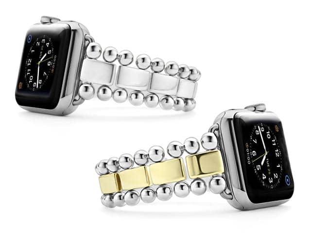 Lagos Smart Caviar Bracelet made for the Apple Watch