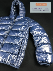 A puffer made with Thermore Ecodown Fibers.