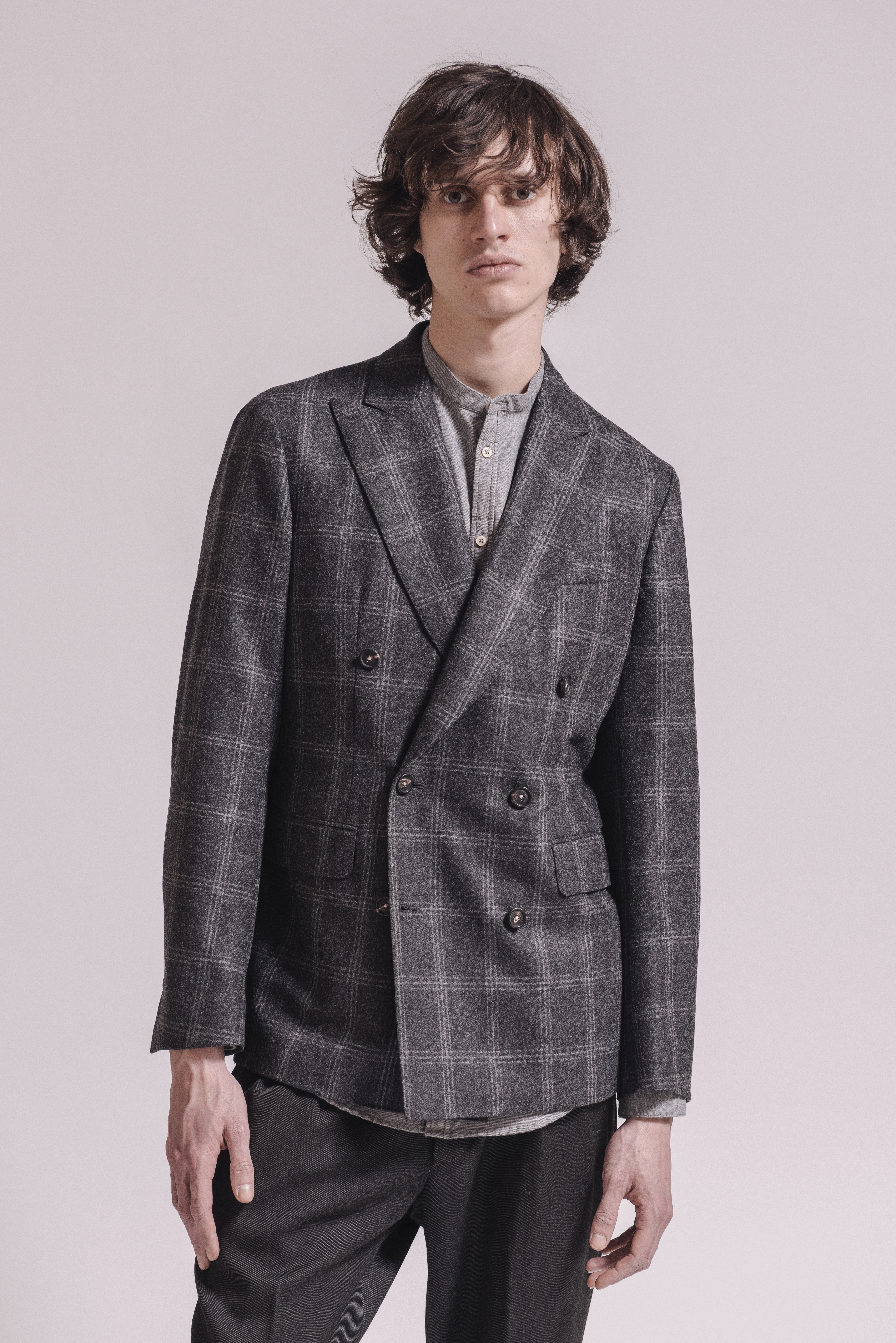 Travel Blazers (Massimo Alba deconstructed sartorial blazer) for Trending at Pitti Uomo, shot January 11, 2018.