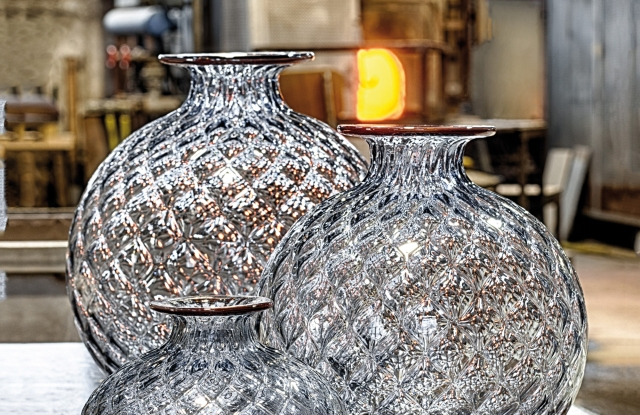 Venini's glass vases
