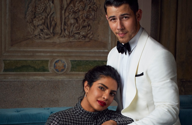 Priyanka Chopra and Nick Jonas, shot by Alexi Lubomirski for Ralph Lauren