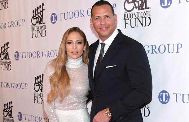 1 - Jennifer Lopez and Honoree Alex Rodriguez