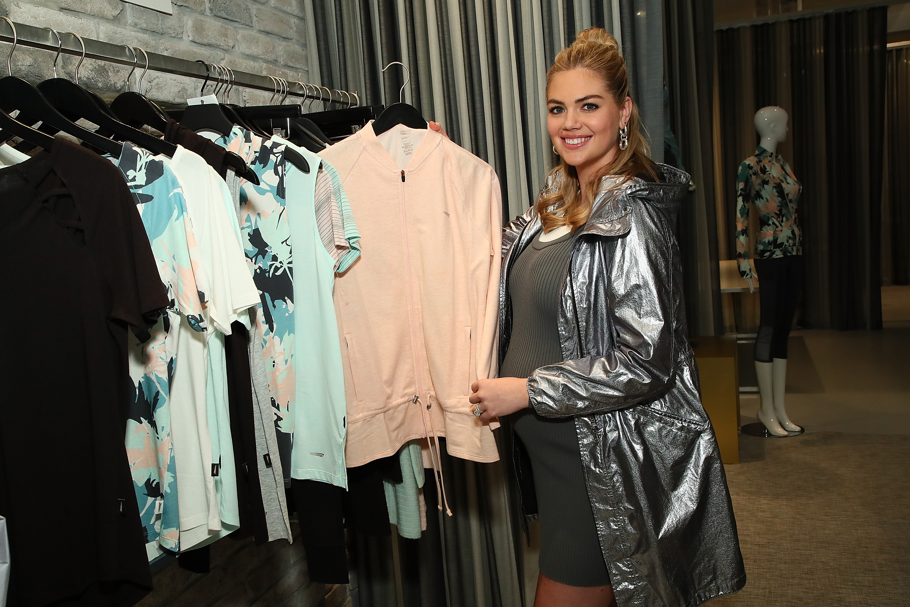 NEW YORK, NY - SEPTEMBER 13:  Kate Upton attends Copper Fit And Kate Upton Launch Event In NYC at The Empire State Building on September 13, 2018 in New York City.  (Photo by Astrid Stawiarz/Getty Images for Copper Fit)