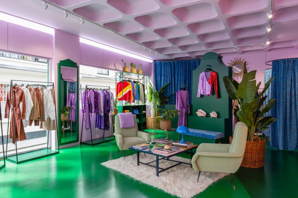 Inside Kitri's Soho pop-up