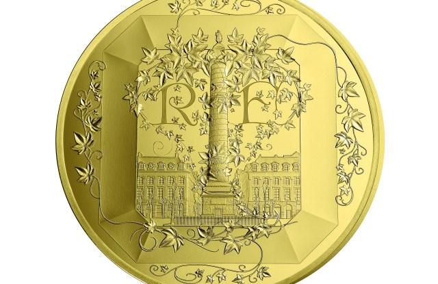 Boucheron coin from the Paris Mint