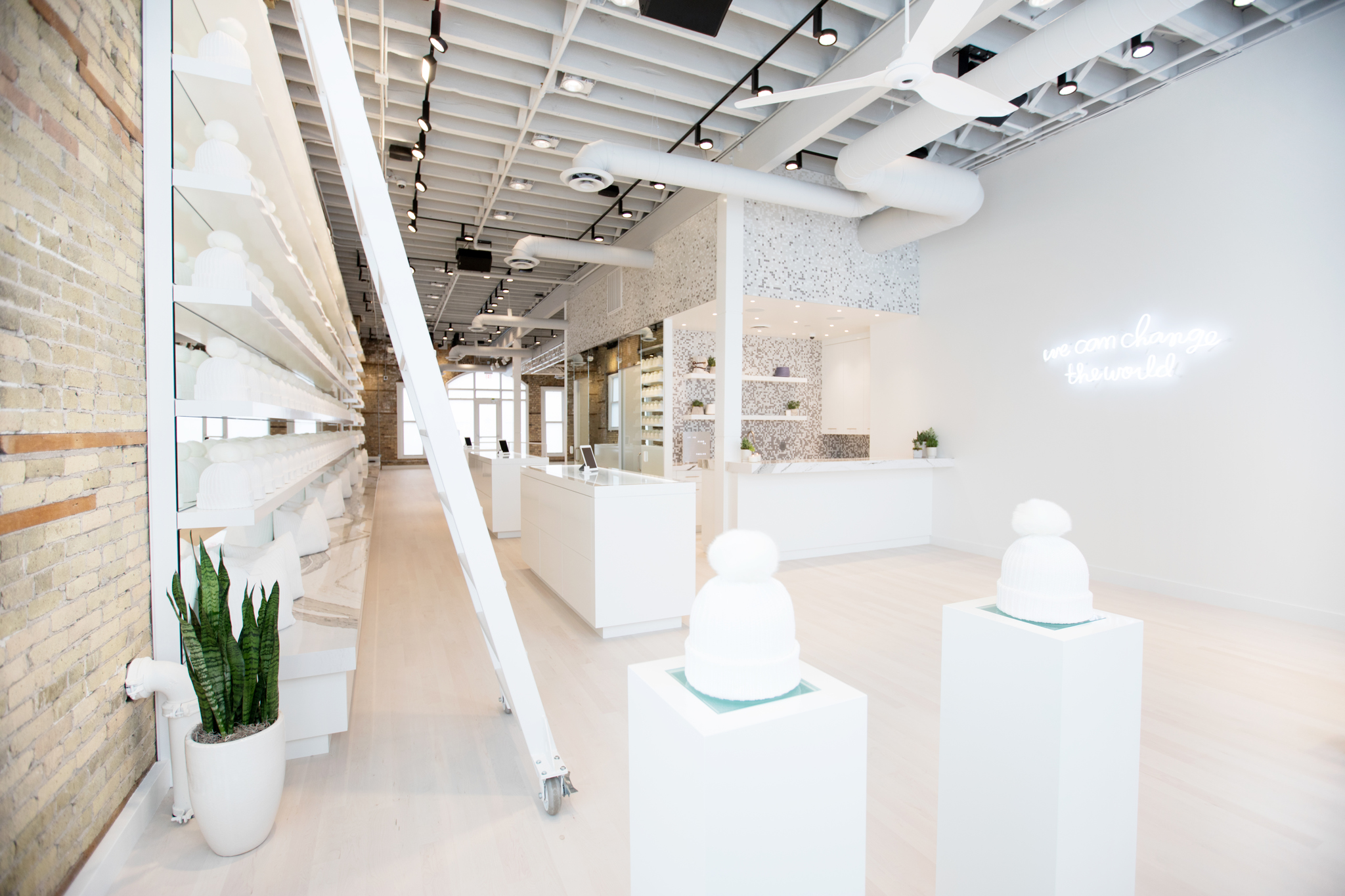 Love Your Melon's new storefront/studio in Minneapolis.