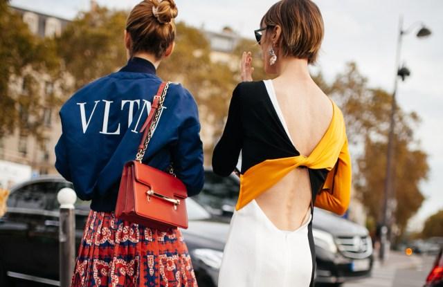 Street style at Paris Fashion Week spring 2019