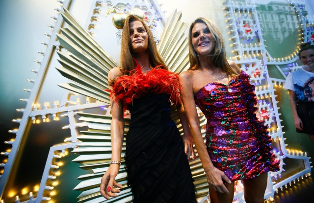 """Anna Dello Russo at her """"AdR Book: Beyond Fashion"""" book-signing event in Milan."""