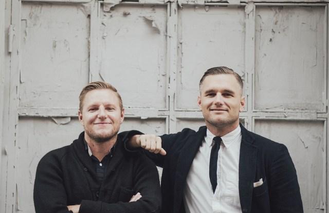Apolis founders Raan and Shea Parton.