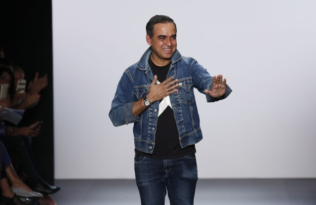 Bibhu Mohapatra on the catwalkBibhu Mohapatra show, Runway, Spring Summer 2017, New York Fashion Week, USA - 14 Sep 2016