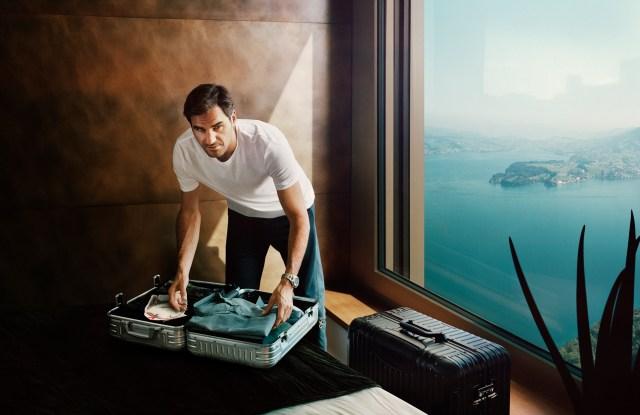 Roger Federer for Rimowa.