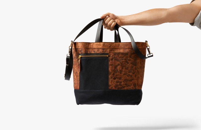 The Mylo Driver tote by Bolt Threads and Chester Wallace.