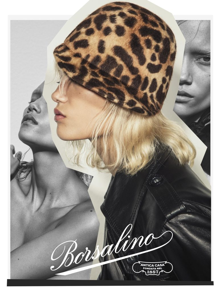 A picture from the Borsalino fall ad campaign.