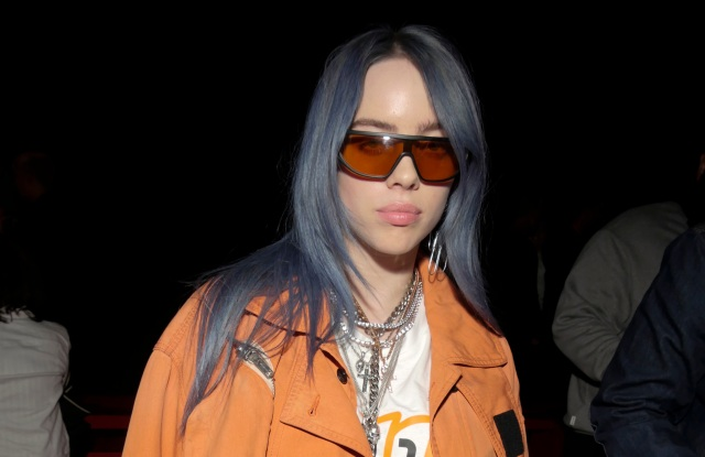 Billie Eilish in the front rowCalvin Klein show, Front Row, Spring Summer 2019, New York Fashion Week, USA - 11 Sep 2018
