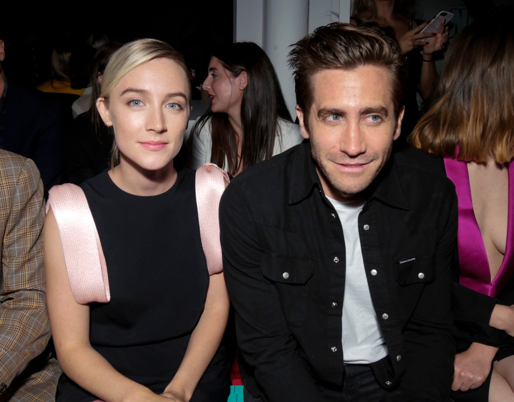 Saoirse Ronan and Jake Gyllenhaal in the front rowCalvin Klein show, Front Row, Spring Summer 2019, New York Fashion Week, USA - 11 Sep 2018