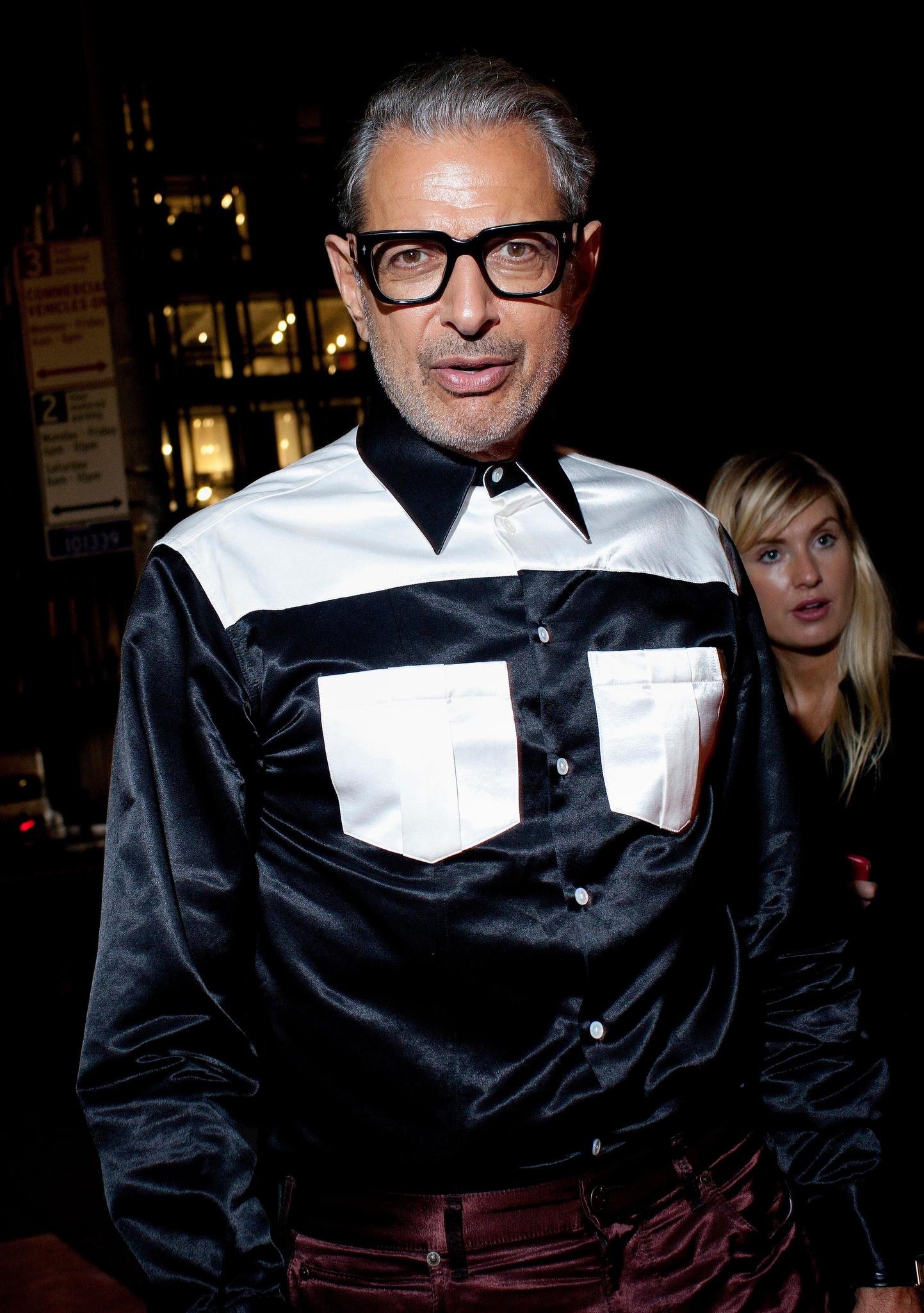Jeff Goldblum'Calvin Klein Women' Fragrance Launch, New York Fashion Week, USA - 11 Sep 2018