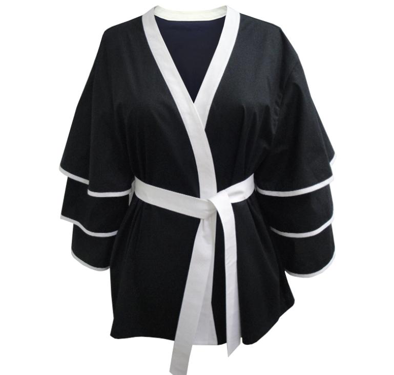 A kimono jacket by L'Atelier Caché