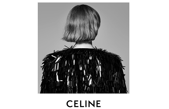An image from the Celine by Hedi Slimane campaign.