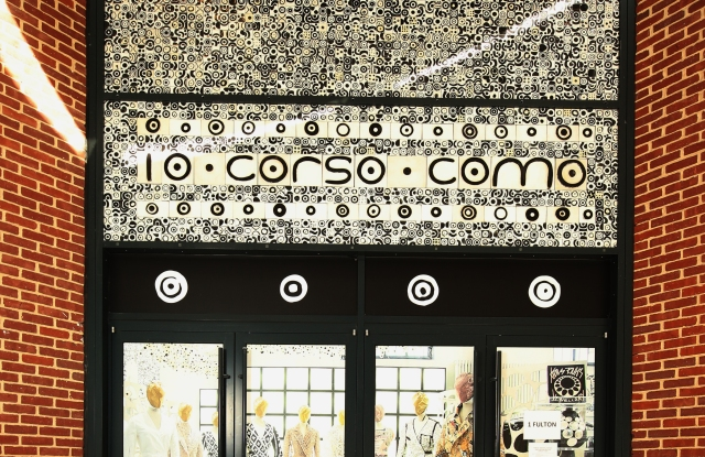 Inside 10 Corso Como's new NYC retail location.