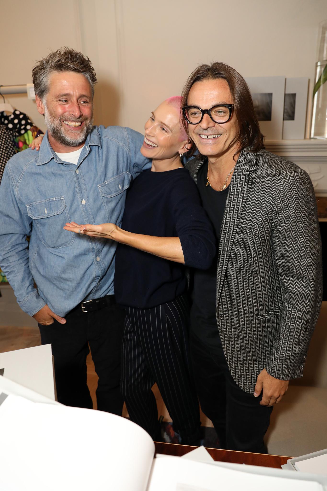 David Sims, Dree Hemingway and Mario Sorrenti