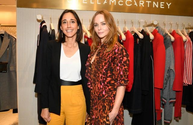 Brune Poirson and Stella McCartney