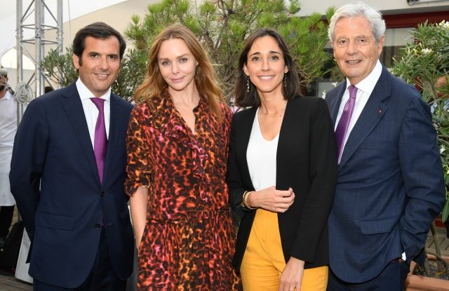 Nicolas Houzé, Stella McCartney, Brune Poirson and Philippe Houzé