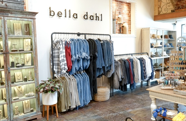 Bella Dahl's new shop-in-shop at Sunny Days in Balboa Island, Calif.
