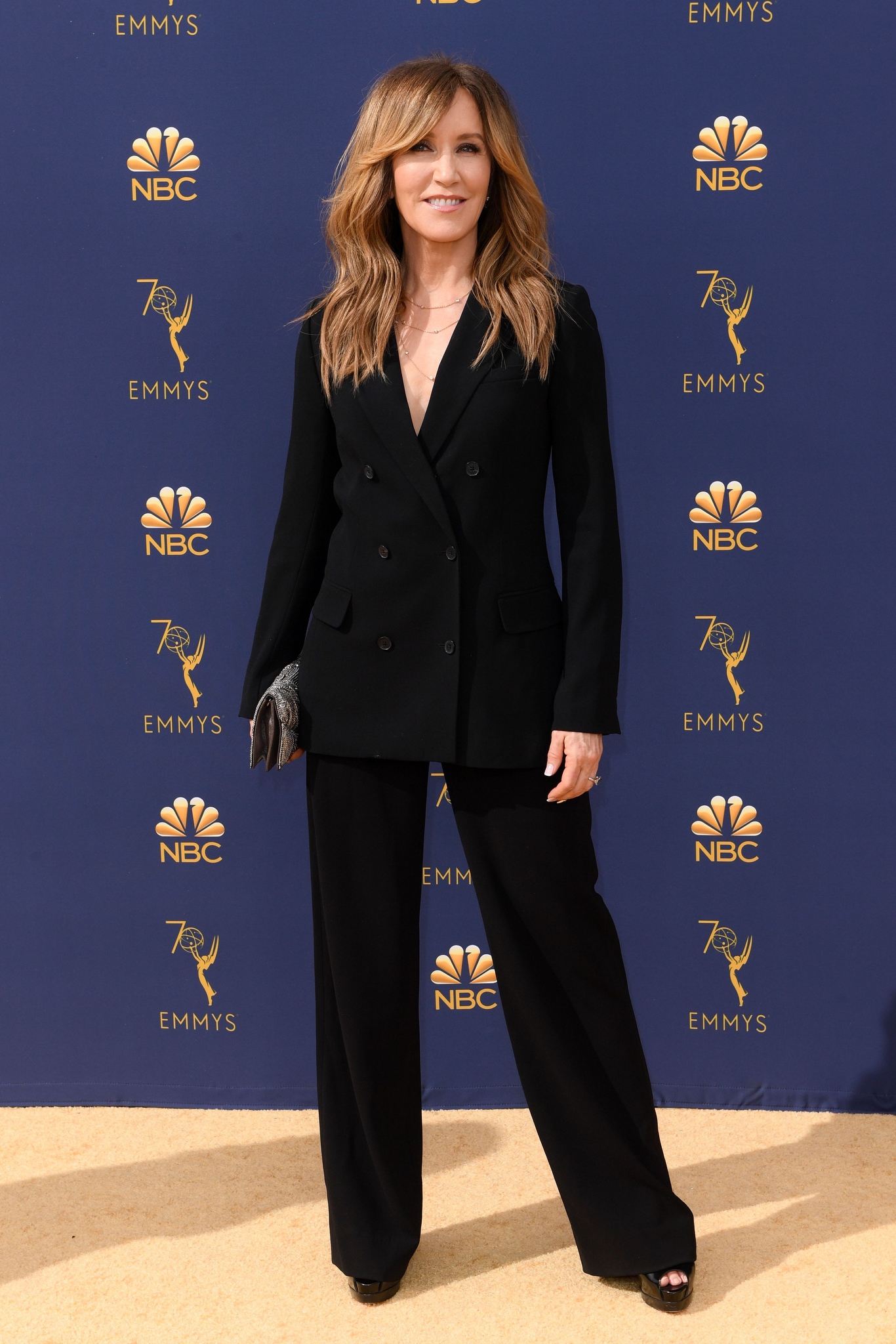 Felicity Huffman70th Primetime Emmy Awards, Arrivals, Los Angeles, USA - 17 Sep 2018