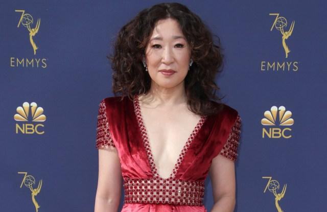 Sandra Oh70th Primetime Emmy Awards, Arrivals, Los Angeles, USA - 17 Sep 2018