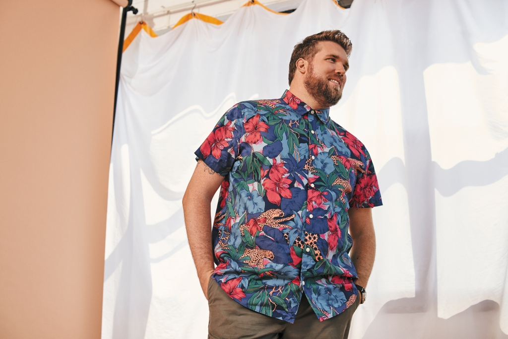 Bonobos's extended sizing collection includes both dress and casual options.