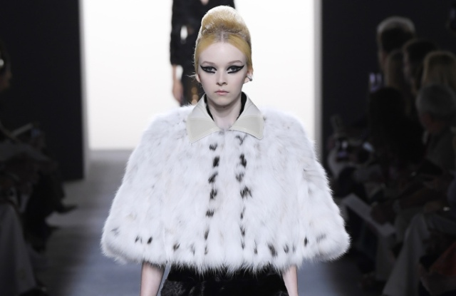 Fendi is sticking to its pelts in the great faux vs. real debate.