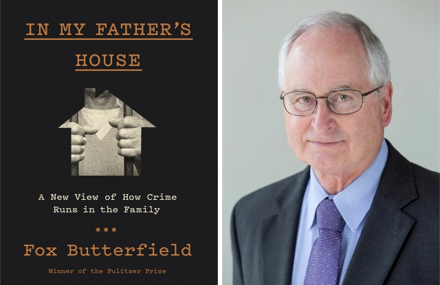 "Fox Butterfield and his new book, ""In My Father's House."""