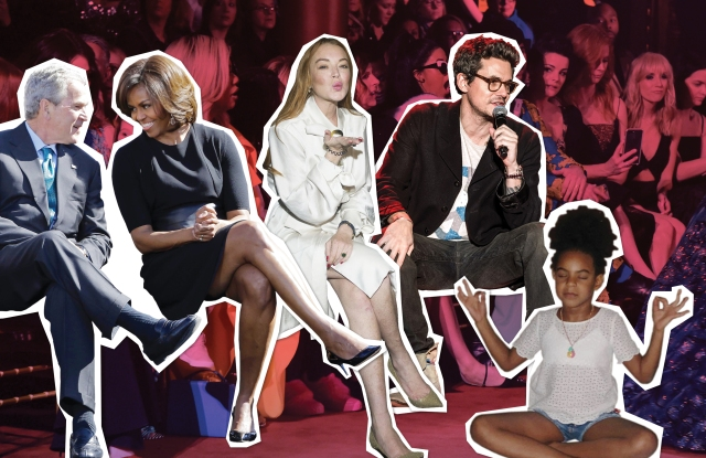 For this season, we're drafting Stacking Our NYFW Fantasy Front Row