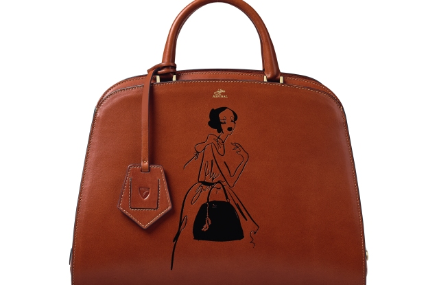 Aspinal of London x Giles Deacon - The Hepburn Bag